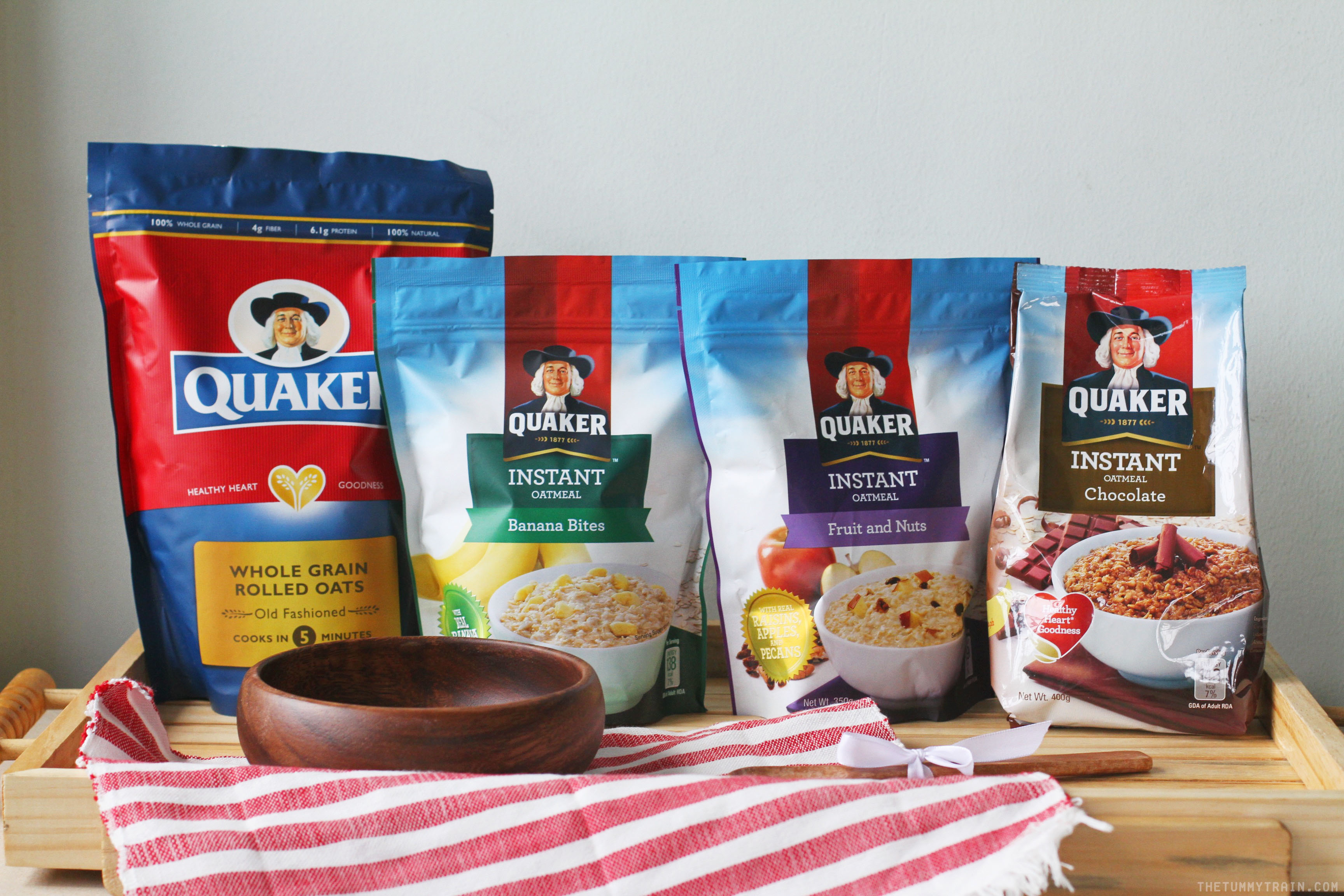 Quaker Oats 1 - Why it's a-okay to start the day with a bowl of Quaker Oats