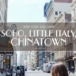 USA 2016 Travel Diary: Walking through SoHo-Little Italy-Chinatown