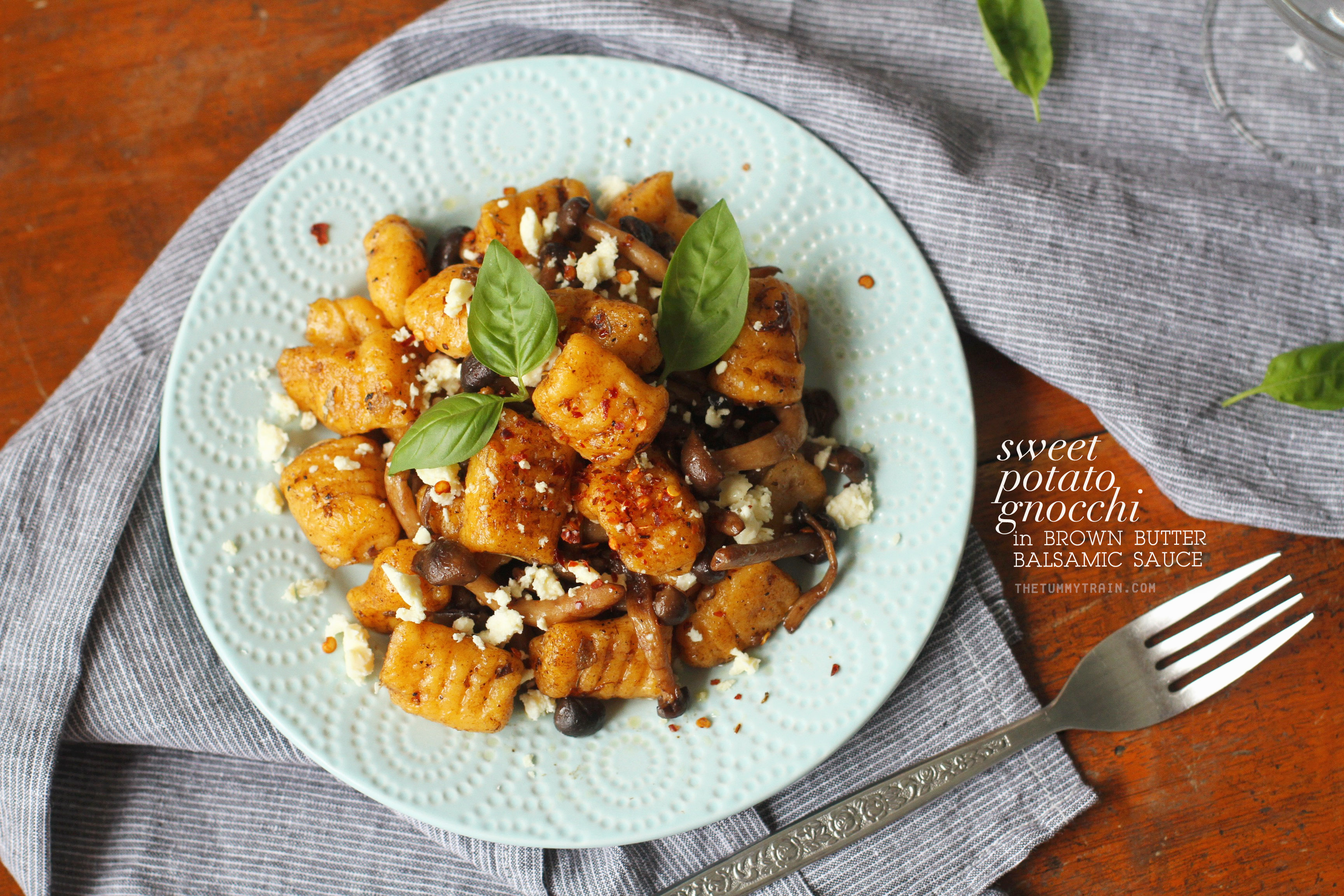 Sweet Potato Gnocchi 1 - Striking up a new love affair with this Sweet Potato Gnocchi Recipe