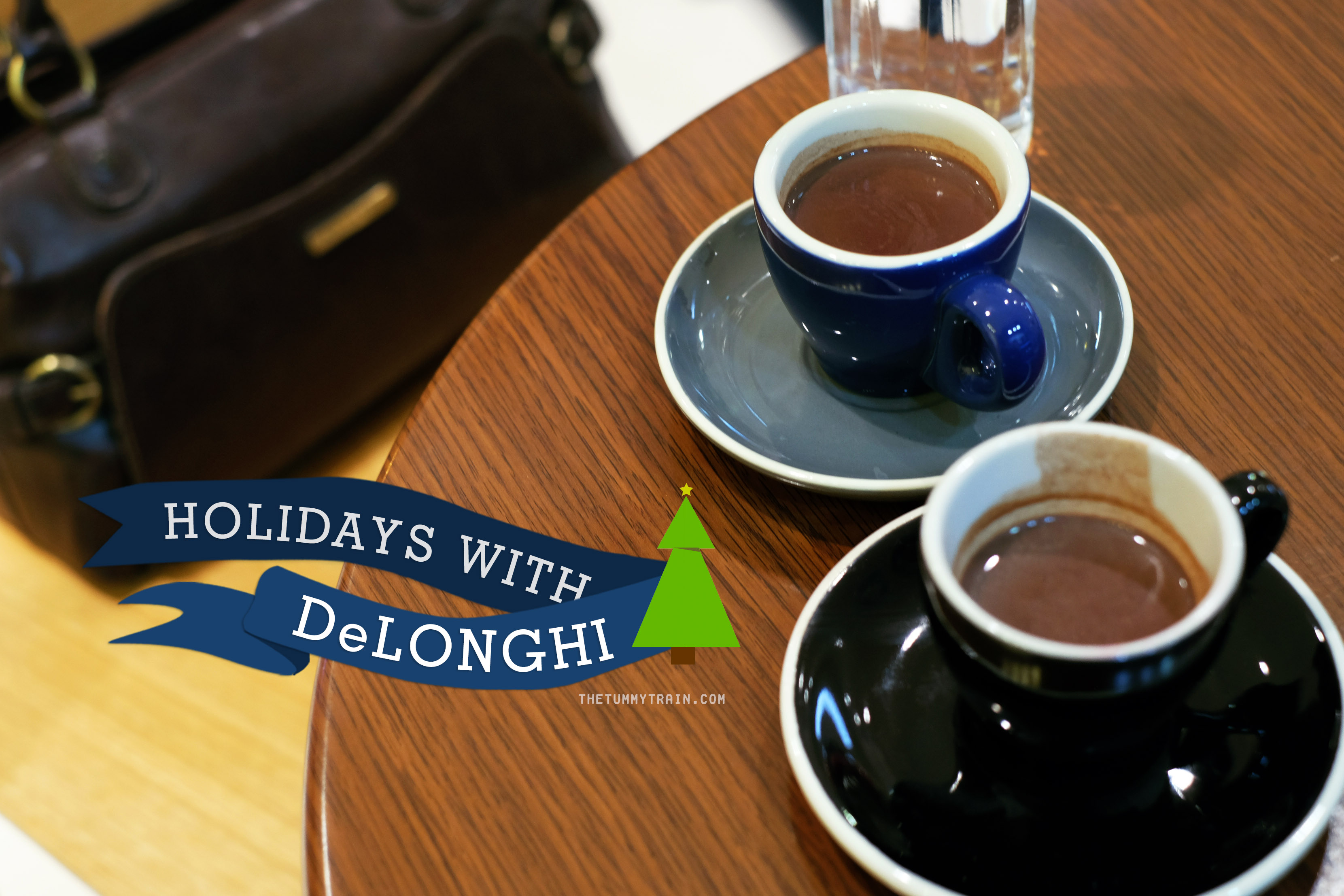 DeLonghi Title - Getting holiday-ready with DeLonghi Multifry and Coffee Maker