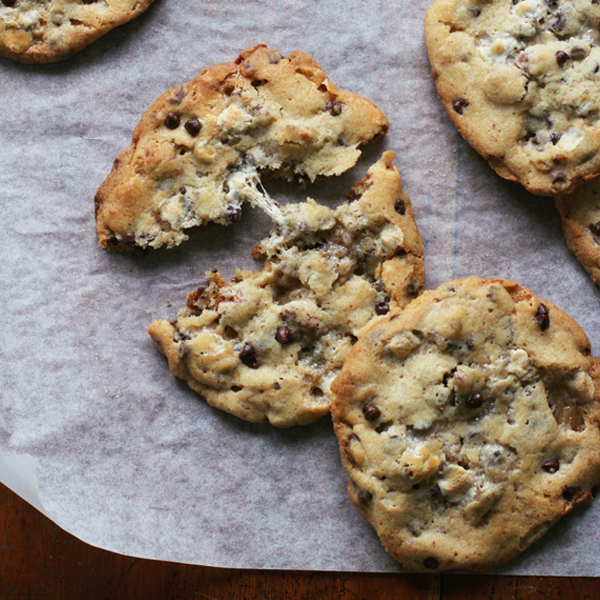 Milk Bars Cornflake Mallow CCCs - The well loved Cornflake Marshmallow Chocolate Chip Cookies from Milk Bar NYC