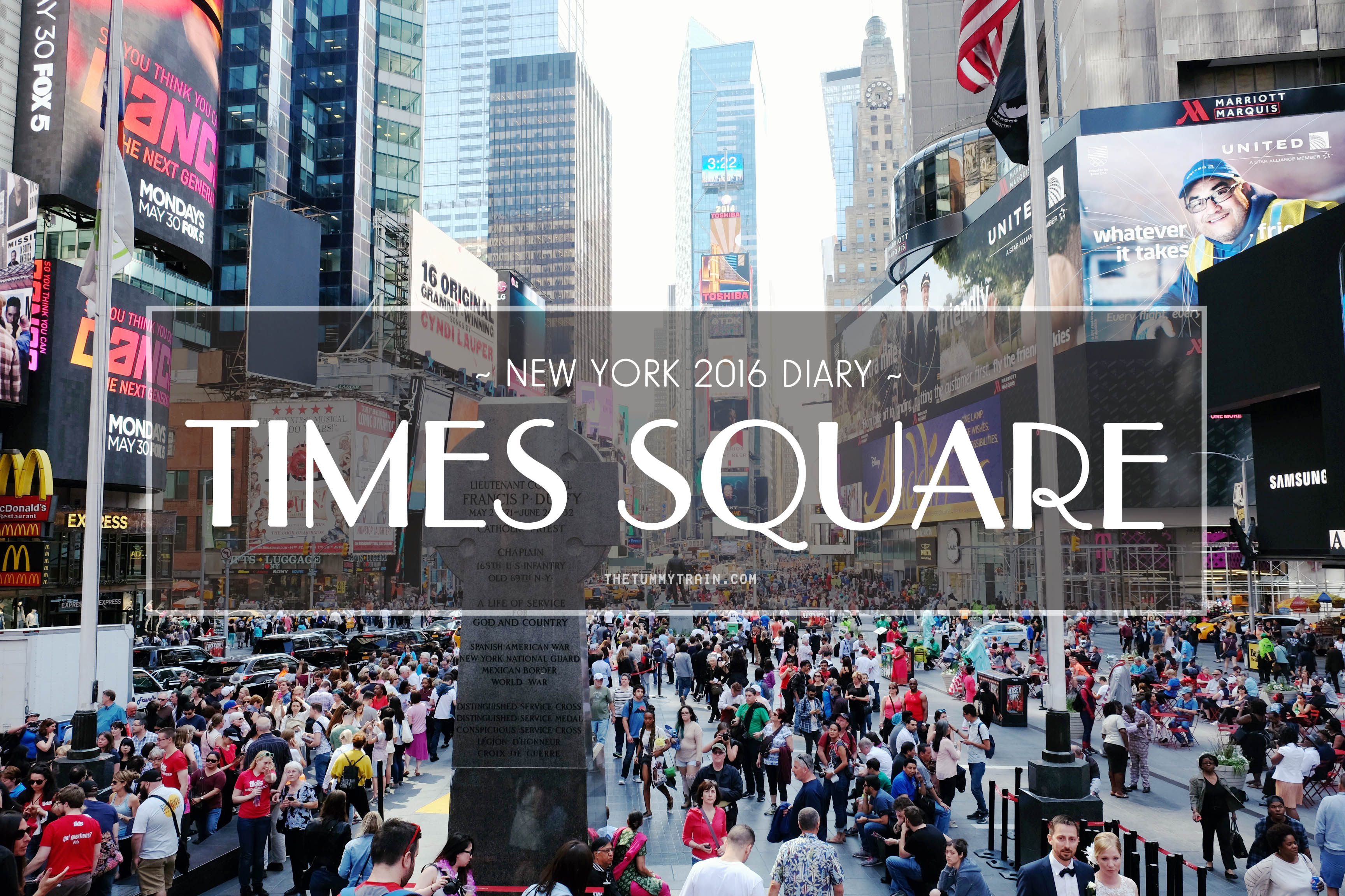 Things to do in times square on sunday for Things to in times square