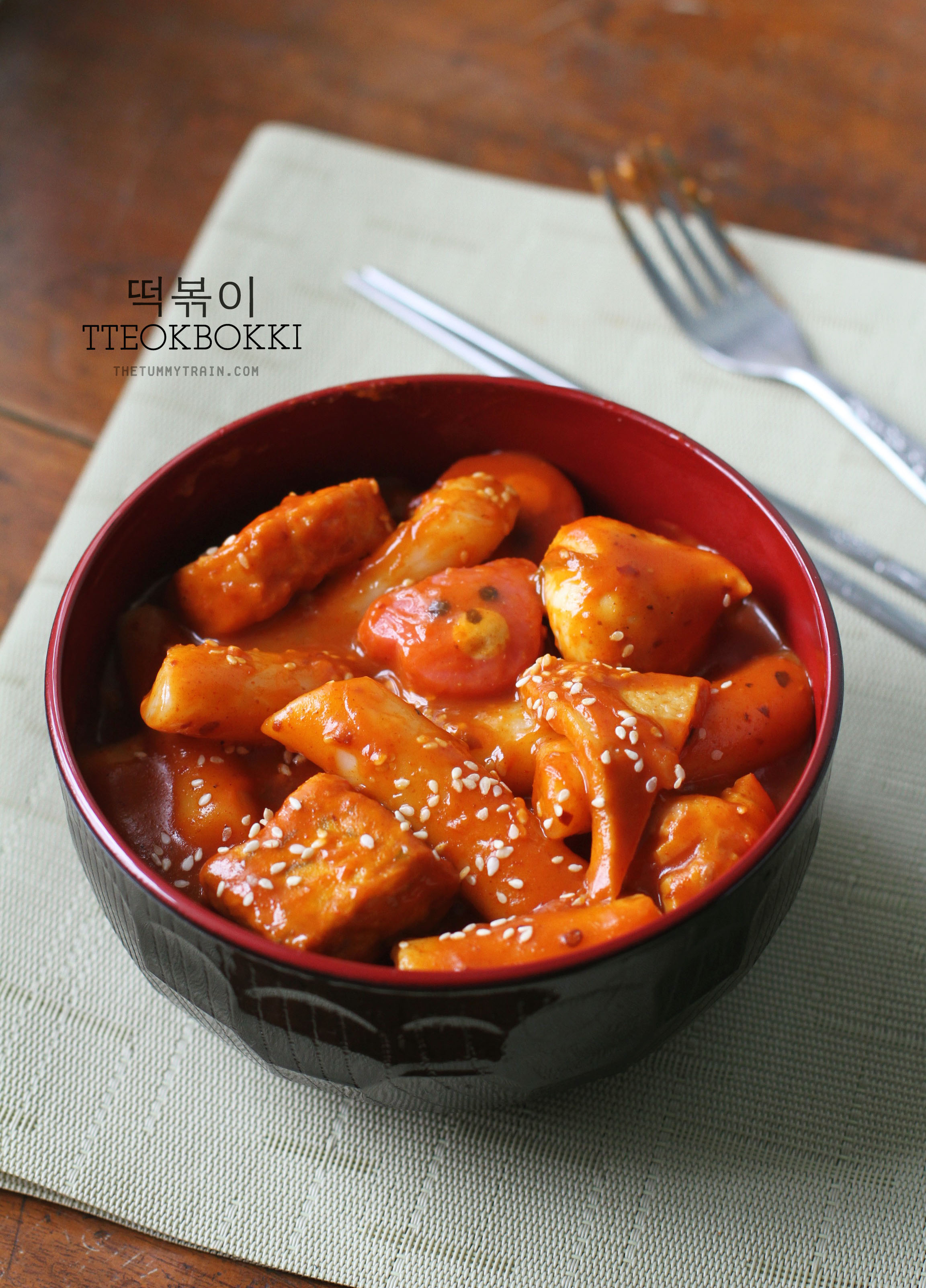 Homemade tteokbokki recipe tteokbokki 1 a homemade tteokbokki recipe because im missing seoul forumfinder Choice Image