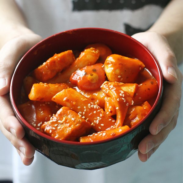 Tteokbokki - A homemade 떡볶이 Tteokbokki Recipe because I'm missing Seoul