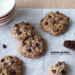 Testing out the Breville Scraper Mixer Pro on these Banana-Oatmeal Choco Chip Cookies