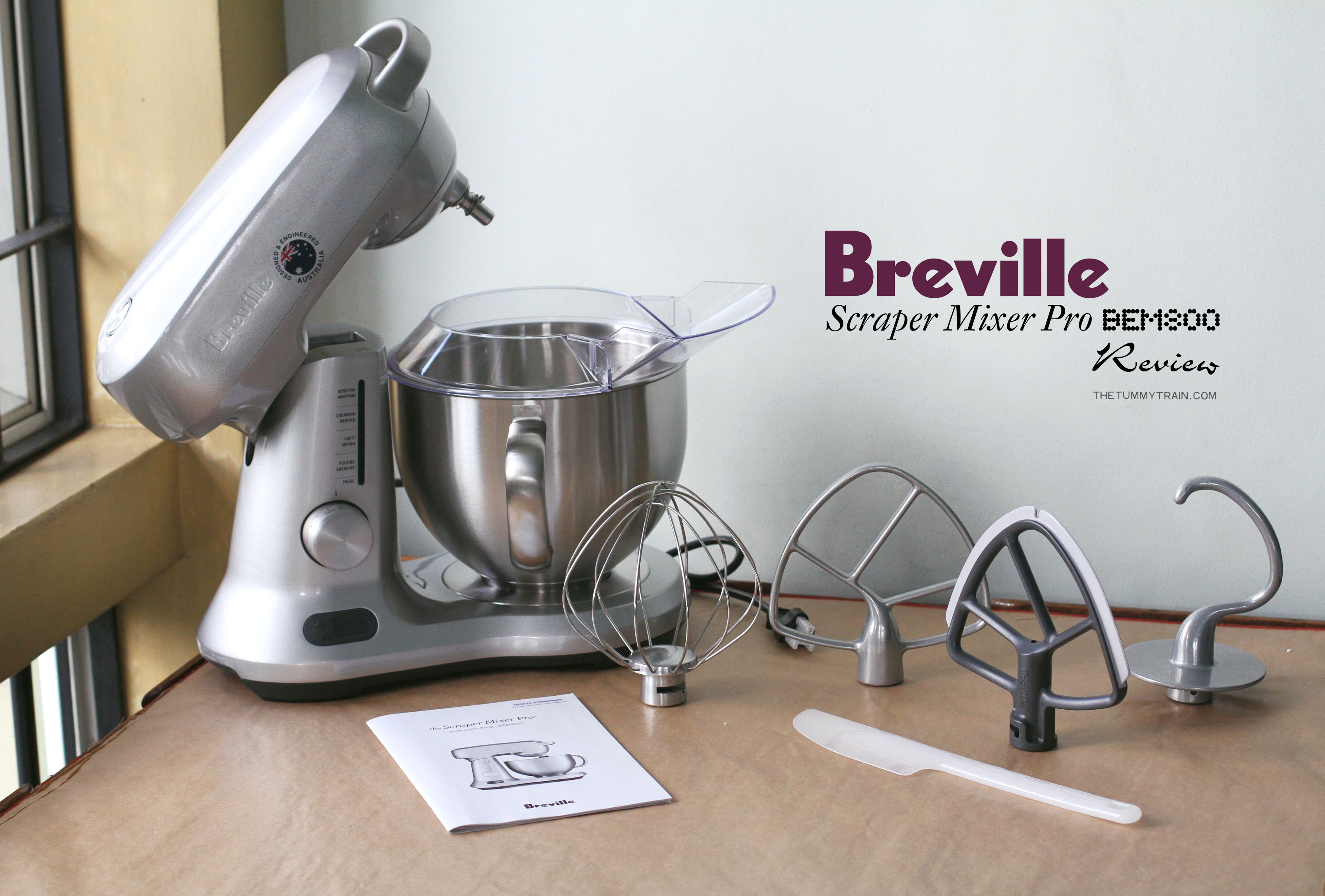 Breville Review 1 - A review on the Breville Scraper Mixer Pro BEM800
