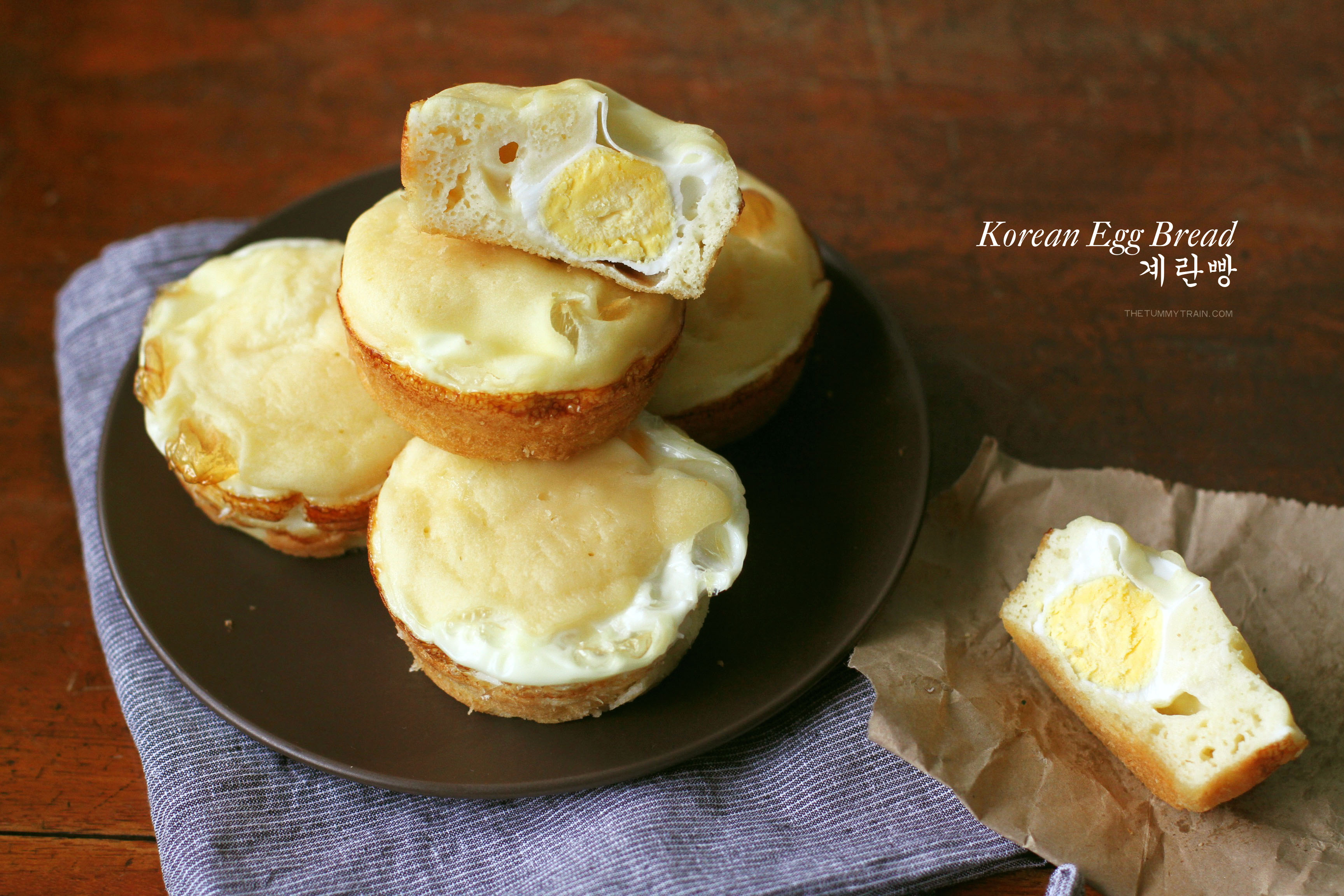 Korean Egg Bread 1 - I wish my mornings were always filled with Korean Egg Bread