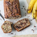 Double trouble with this particular variation of a Chocolate Banana Bread Recipe
