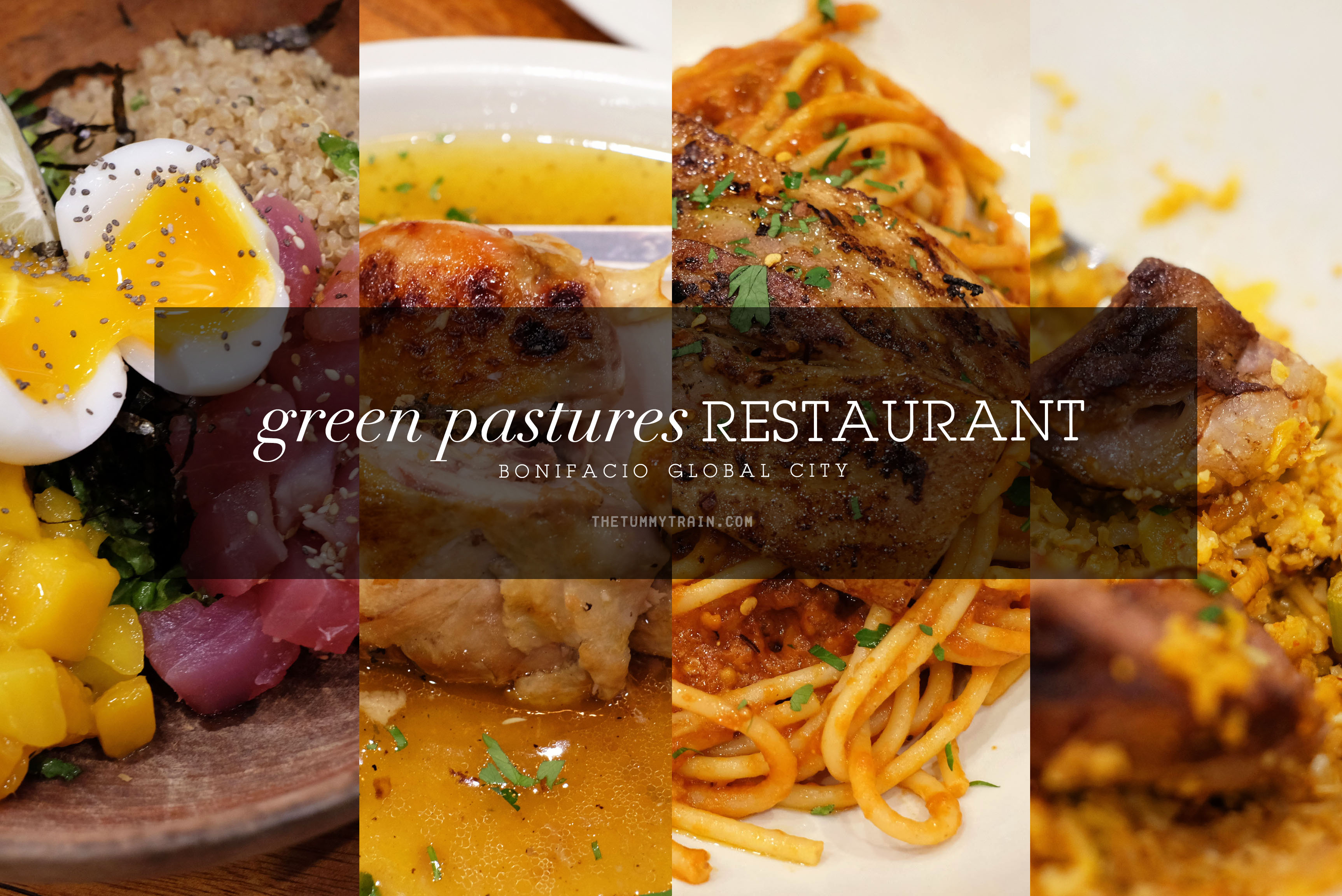 Green Pastures Title - Healthy eating in style at Green Pastures BGC