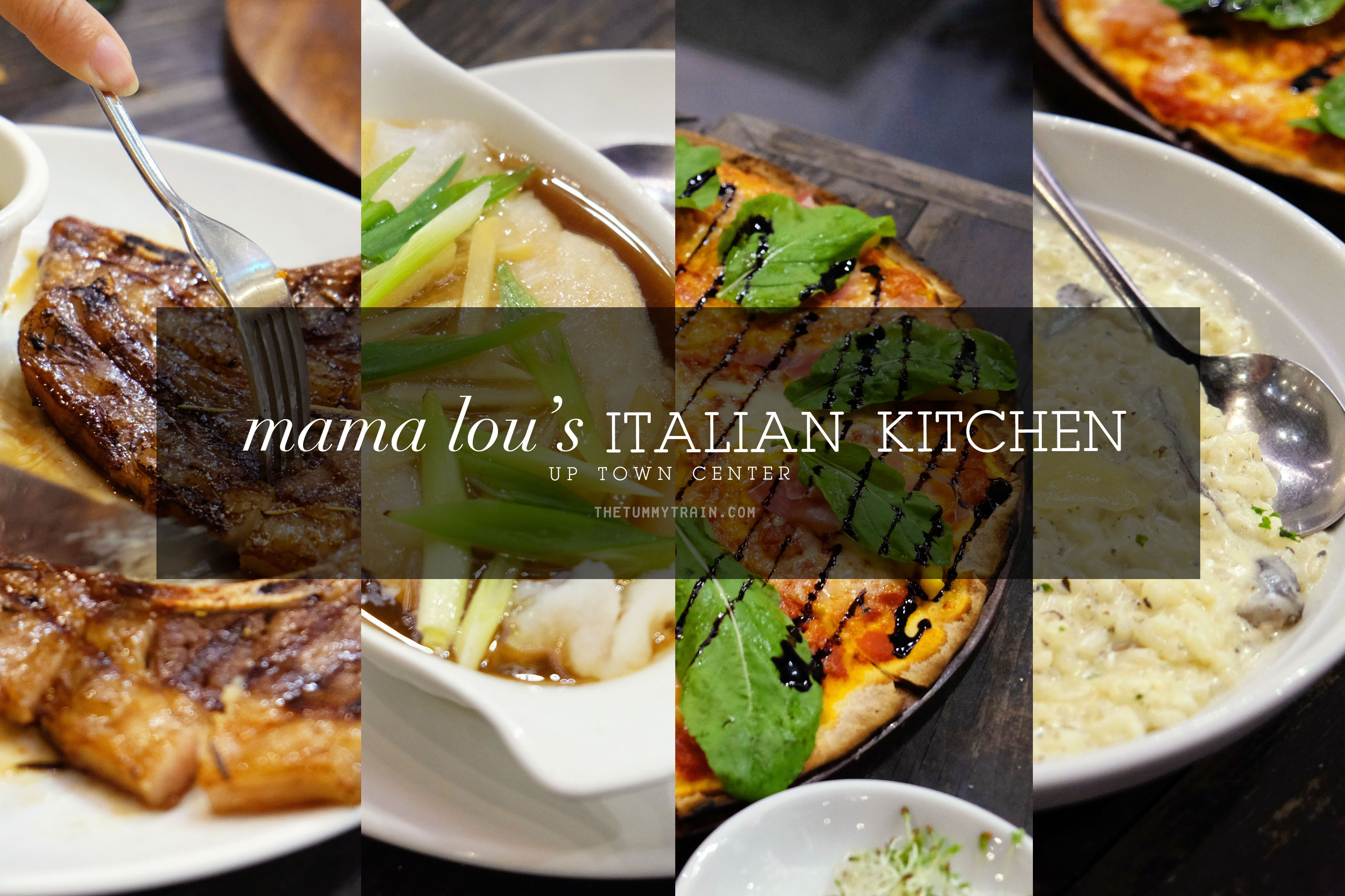 Mama Lous title - A quick stop at Mama Lou's Italian Kitchen to satisfy cravings
