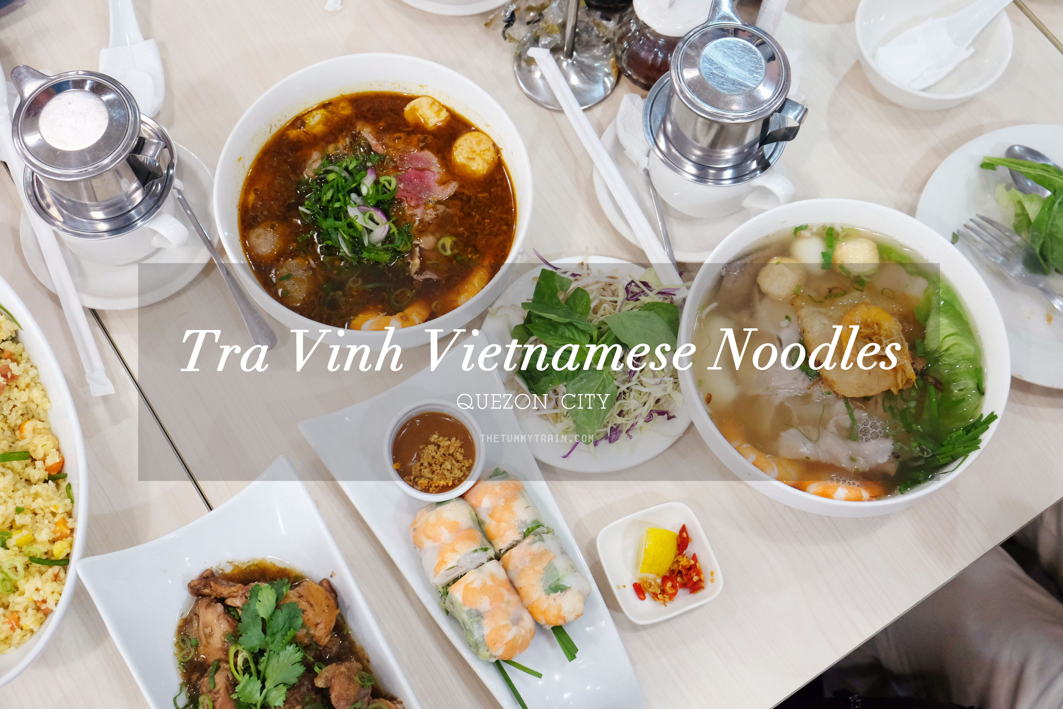 Tra Vinh TITLE - Tra Vinh is the place to go for Vietnamese food cravings