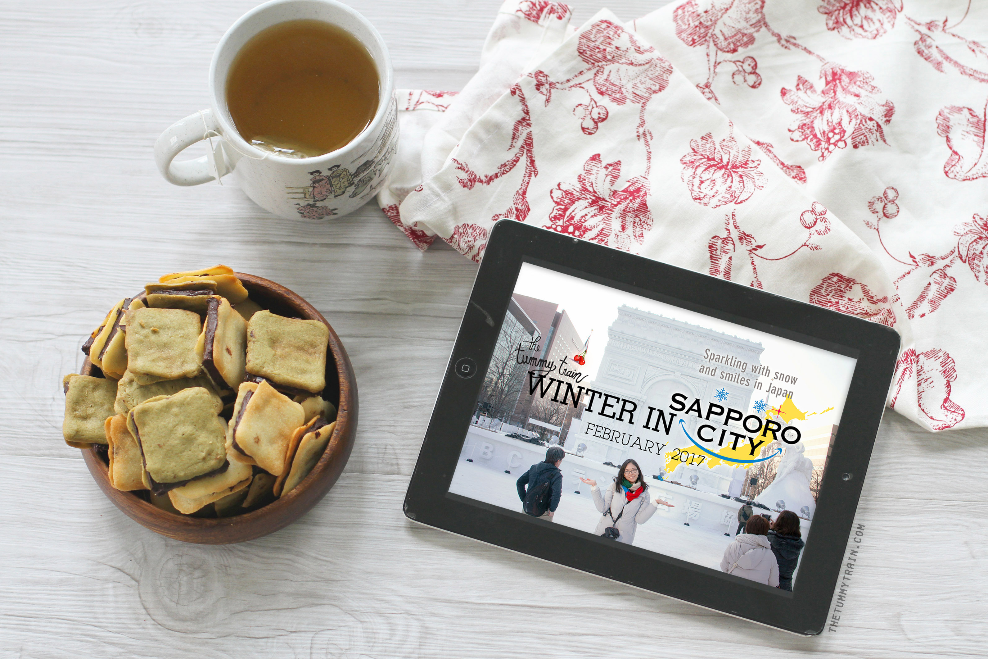 LDC Cover 1 - Sapporo Memories in a Travel Video + Homemade Langue de Chat Recipe