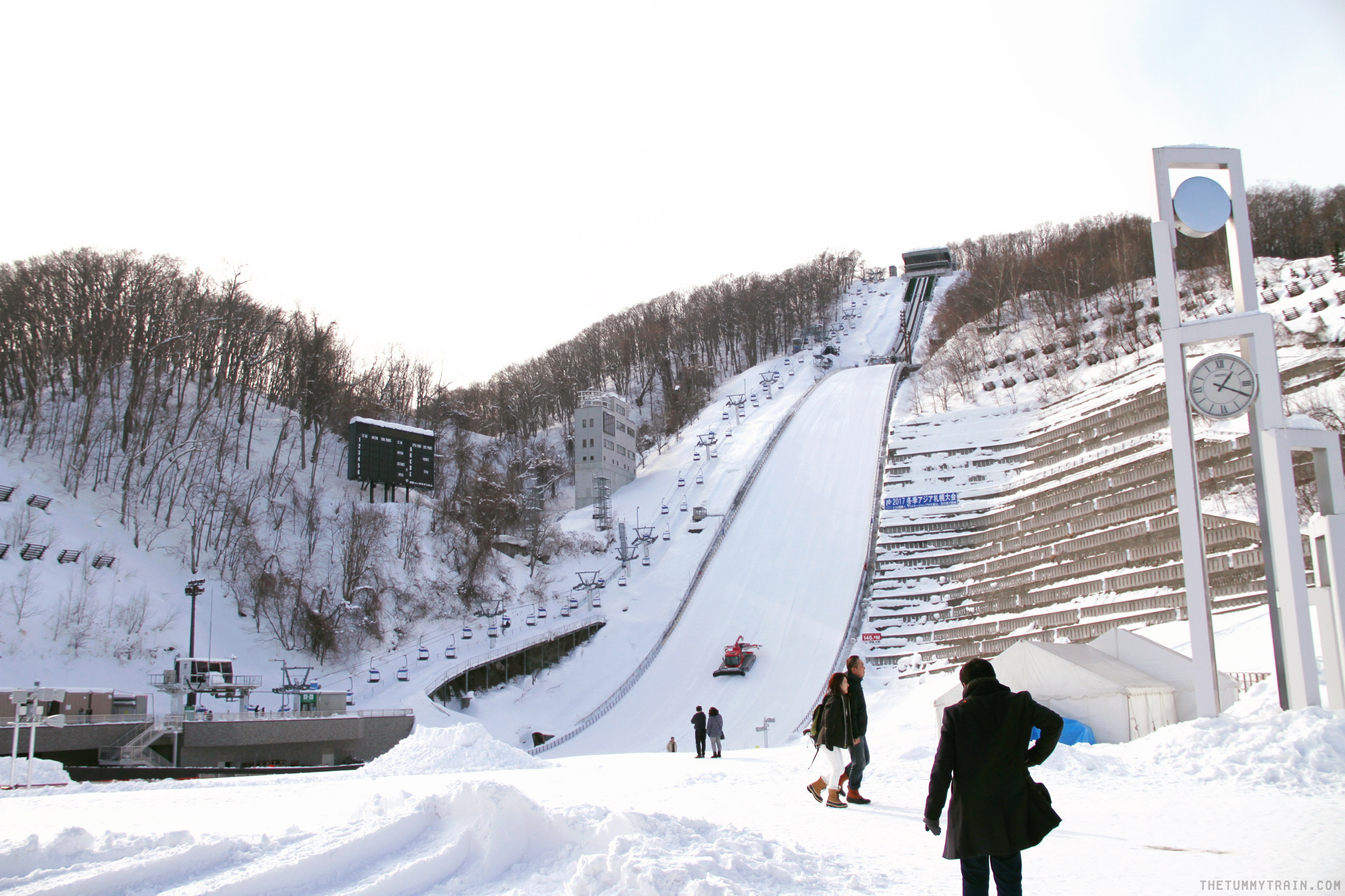 Okurayama 1 - Sapporo Travel Diary 2017: Lifting off to the Okurayama Ski Jump Viewing Lounge