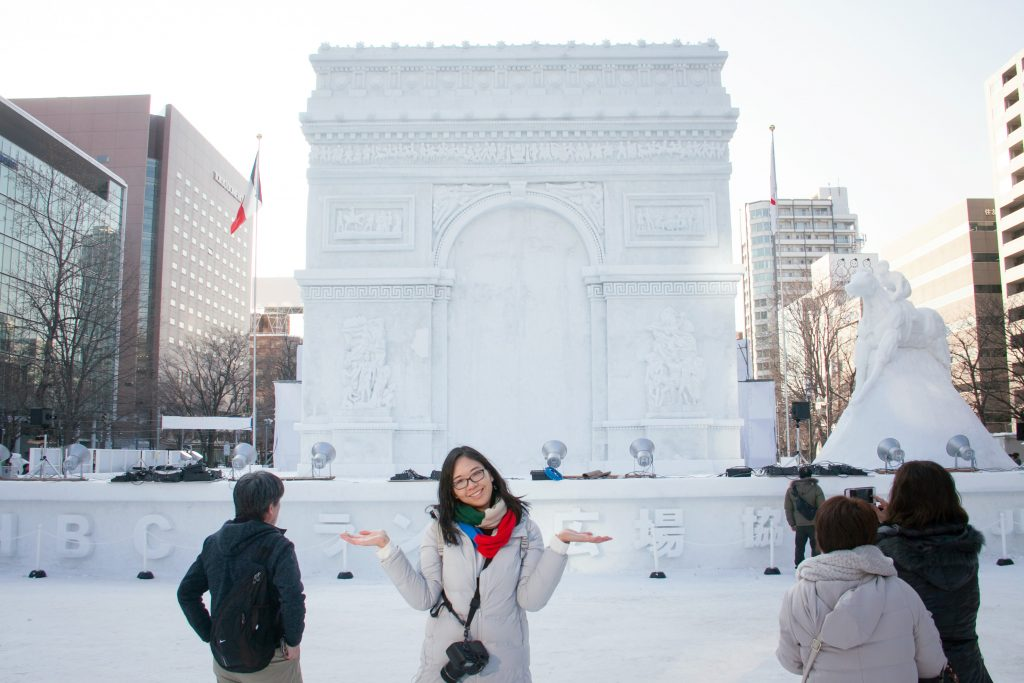 snapshots from the 68th sapporo snow festival at odori park. Black Bedroom Furniture Sets. Home Design Ideas