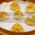 Sampling the famous colourful xiao long bao at Paradise Dynasty S Maison