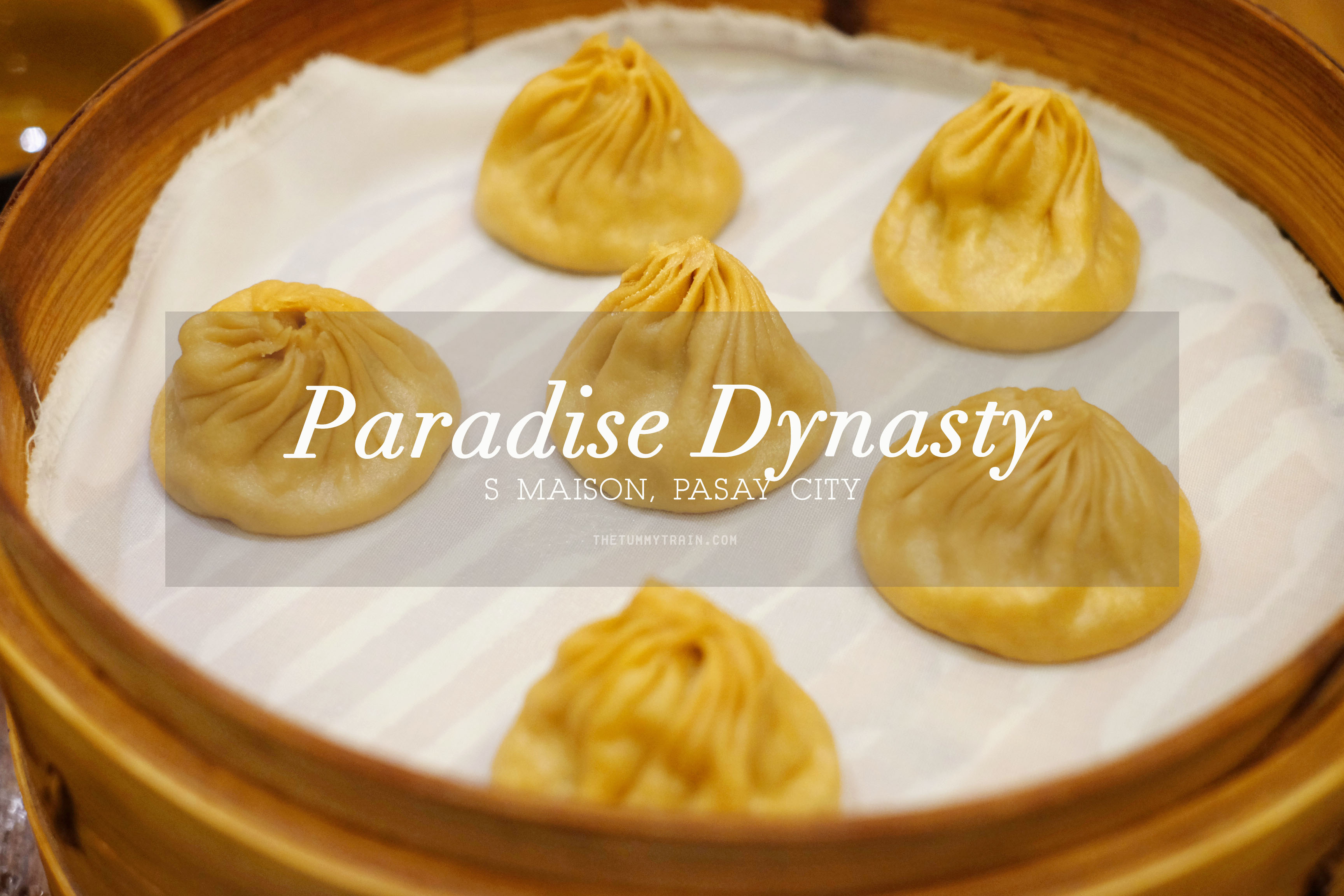 Paradise Dynasty Cover - Sampling the famous colourful xiao long bao at Paradise Dynasty S Maison