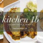 Kitchen 1B in Makati could be your cozy Mother's Day date place