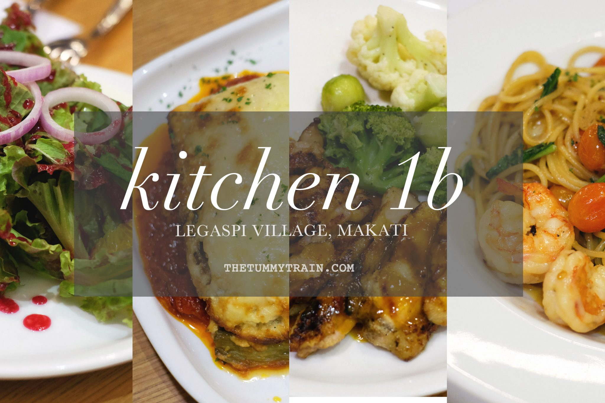 Kitchen 1B - Kitchen 1B in Makati could be your cozy Mother's Day date place
