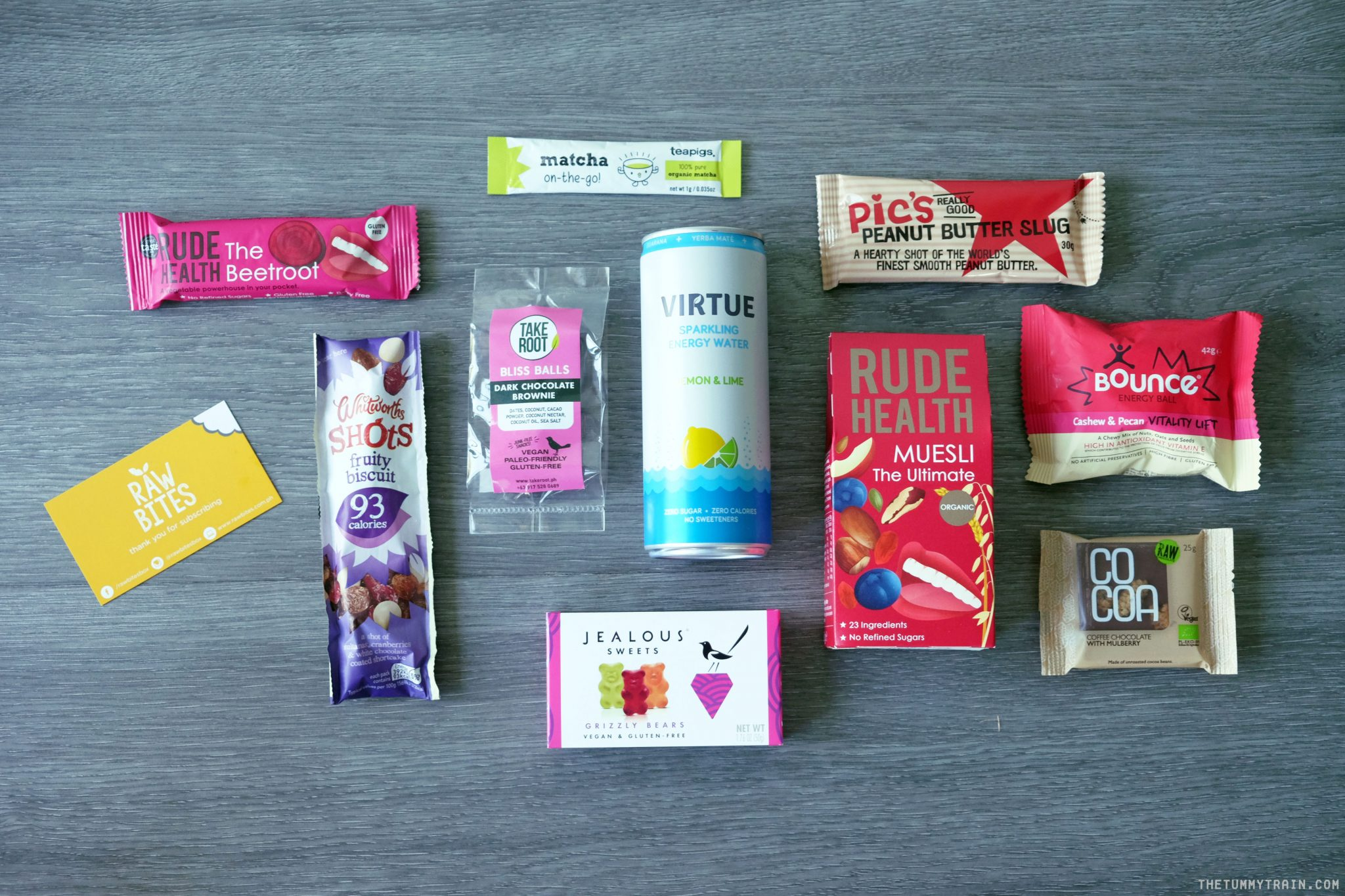 Raw Bites 1 - Unboxing + Review of the Raw Bites Healthy Snack Subscription Box