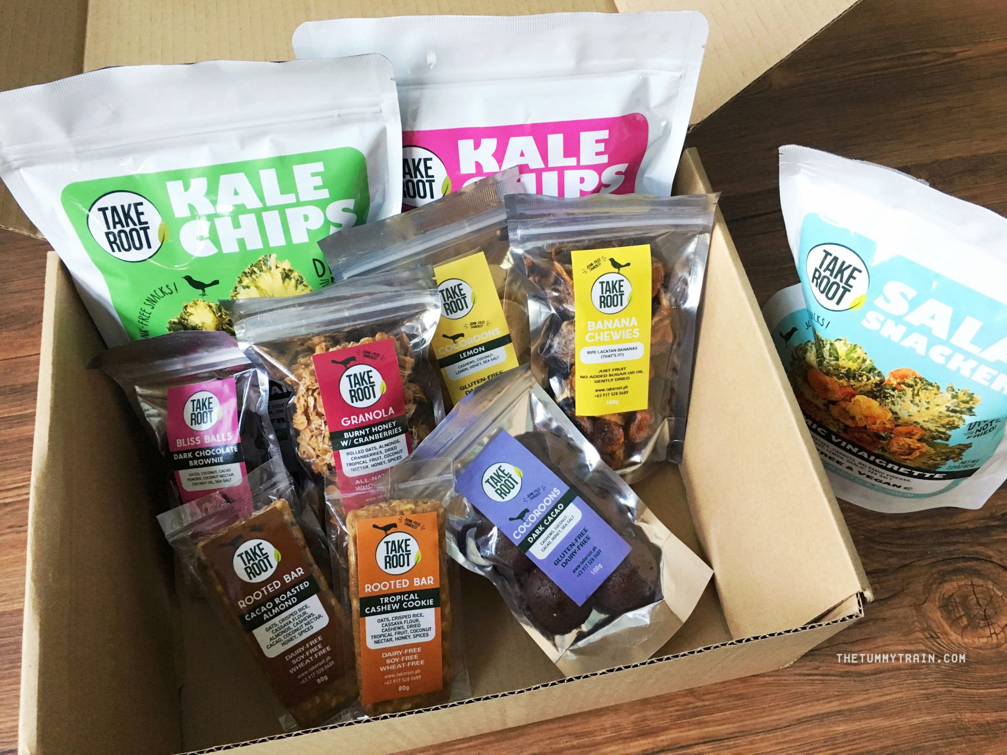 Take Root 1 - Eat or Retreat: Take Root Healthy Snacks is taking off with my heart