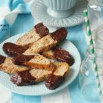 These Banana Bread Biscotti with Chocolate are the most epic biscotti ever!