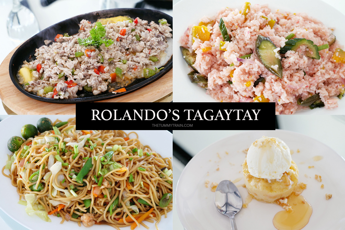 Rolandos Cover - Having a little Pinoy fiesta at Rolando's Tagaytay