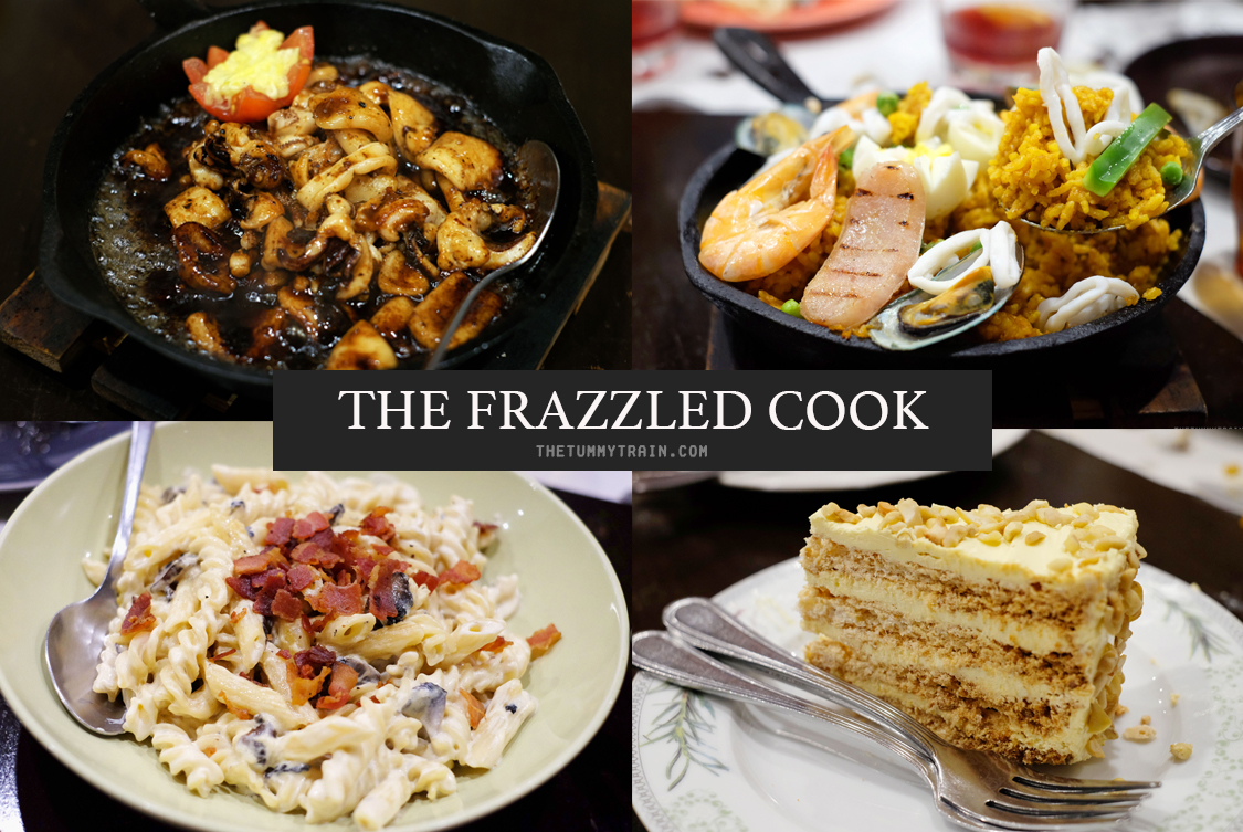 The Frazzled Cook - Flurried feasting at The Frazzled Cook in Quezon City