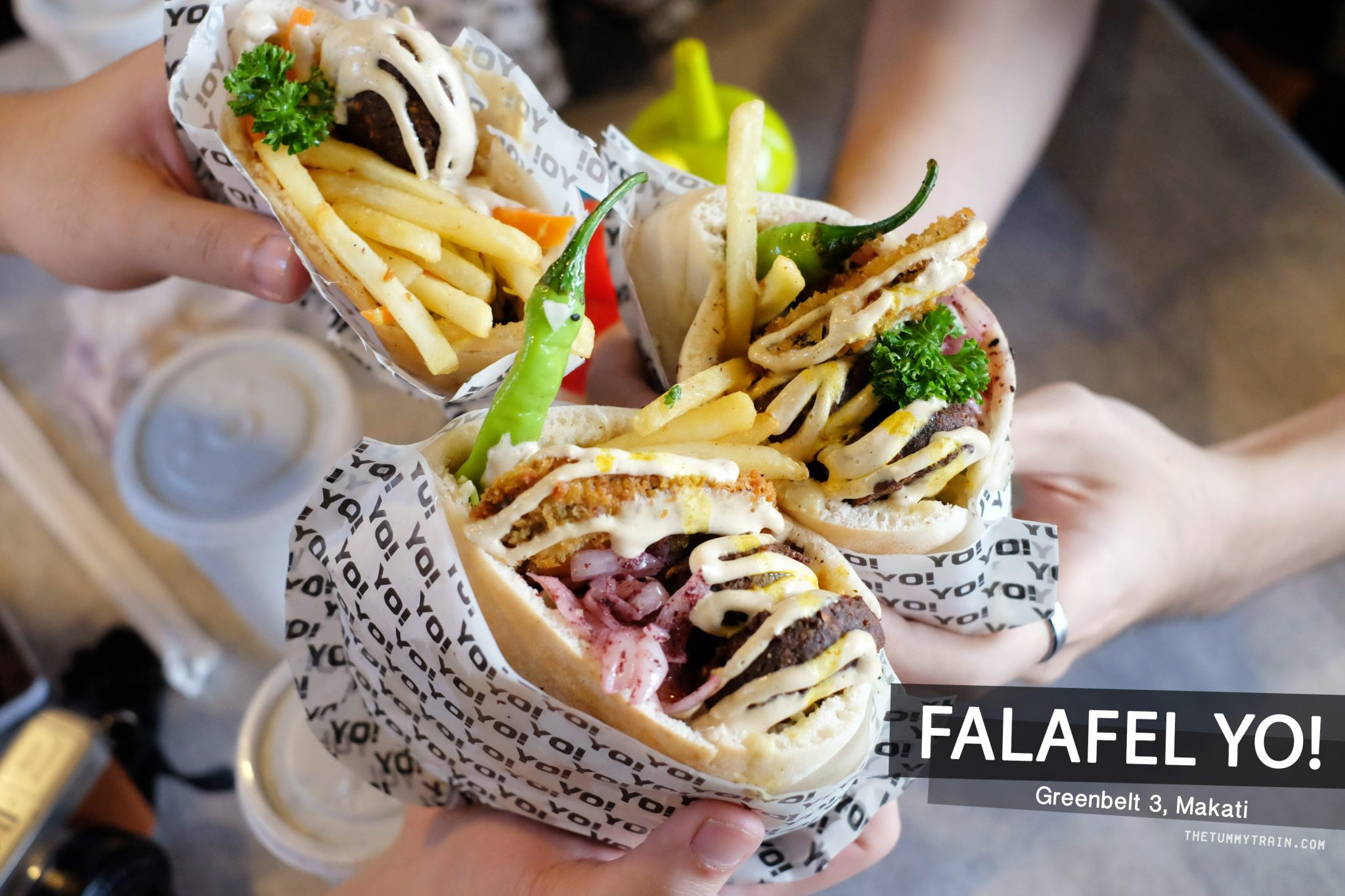Falafel Yo COVER - Eat or Retreat? Falafel Yo! at Greenbelt 3 Cinema Level