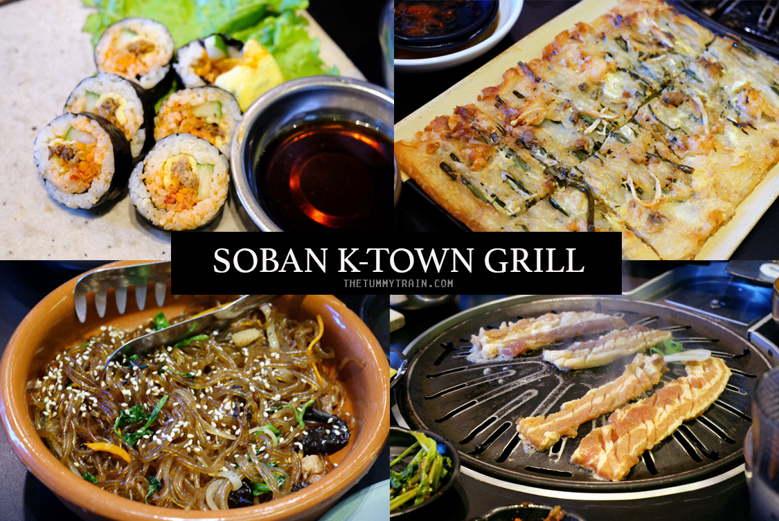 SOBAN COVER - A quick stopover at Soban K-Town Grill