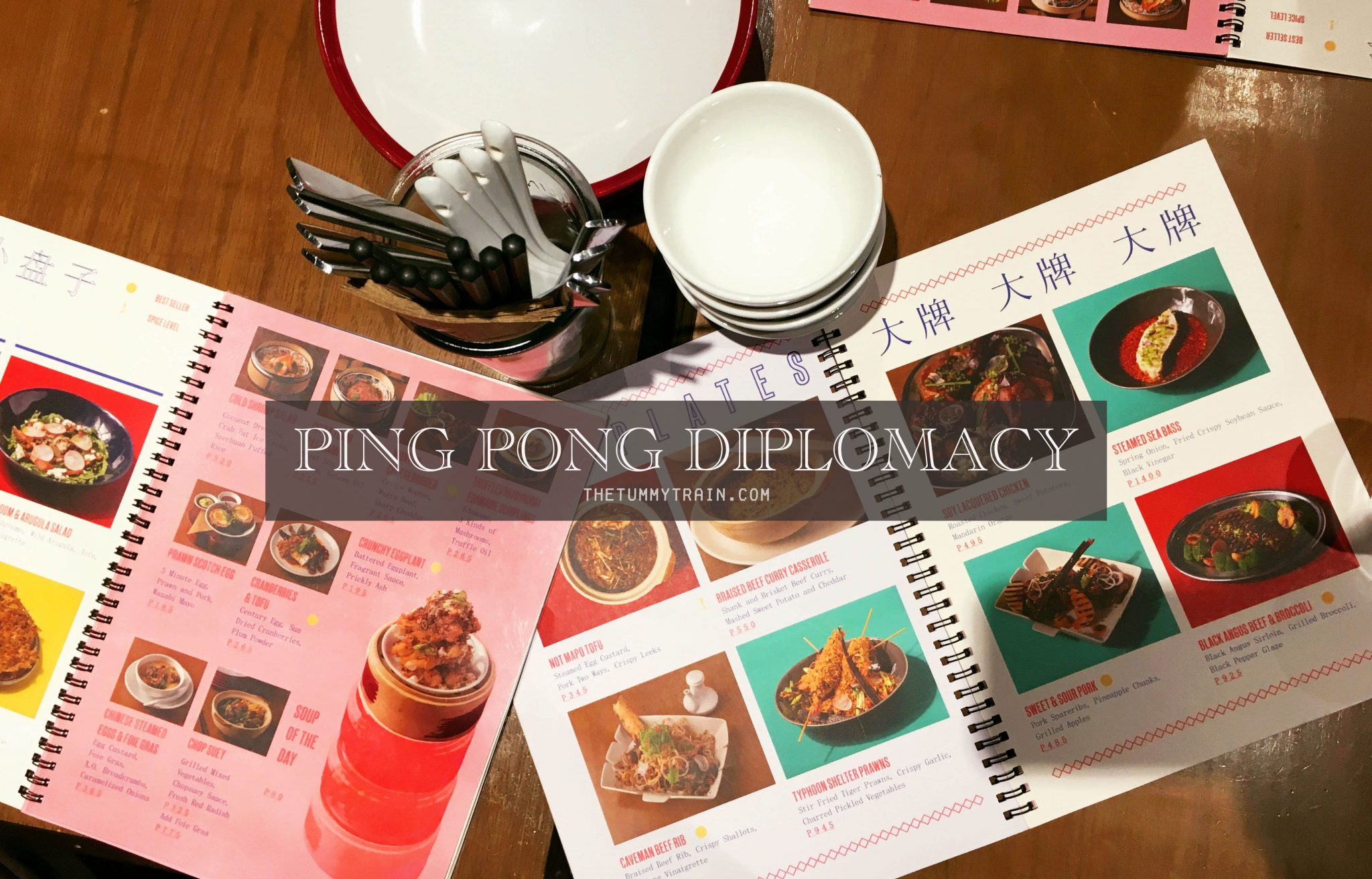 Ping Pong D COVER - A different Chinese Dining experience at Ping Pong Diplomacy