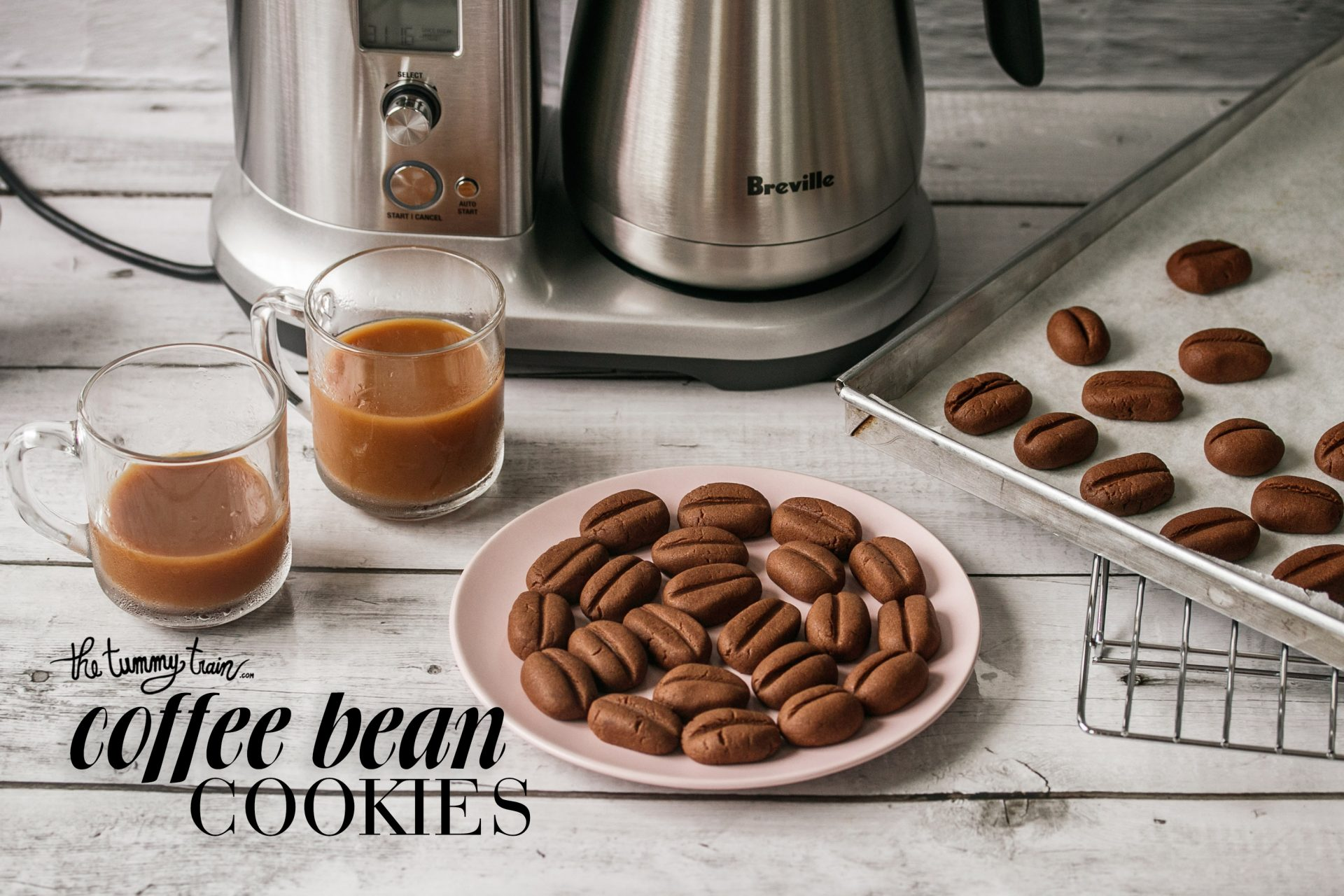 Coffee Bean Cookies Recipe Feat Breville The Tummy Train